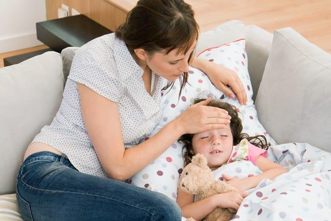 ребенок заболевает