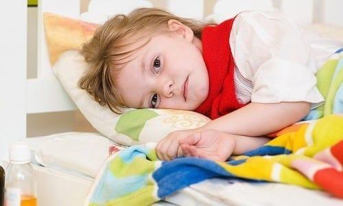 ребенок в постельном режиме