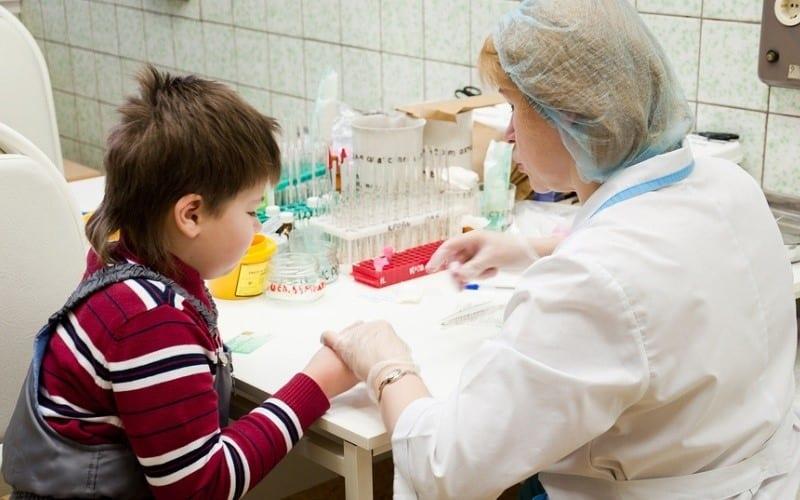 анализ крови у ребенка